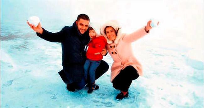 Antalya'da kış ve yaz bir arada
