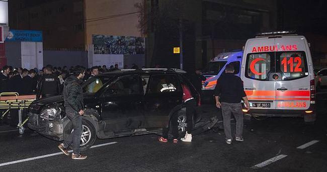 Polislerden kaçan sürücü 9 kişiyi yaraladı