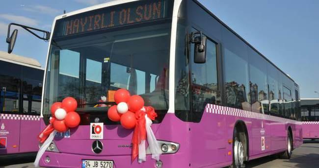 Sahibinden satılık erguvan otobüs!