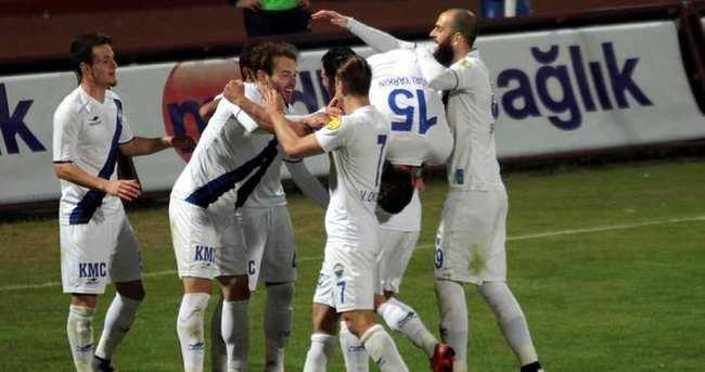 Kayseri Erciyesspor'da galibiyet sevinci