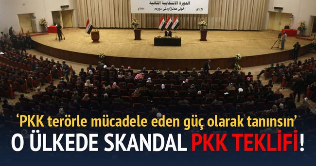 O ülkede skandal PKK teklifi!