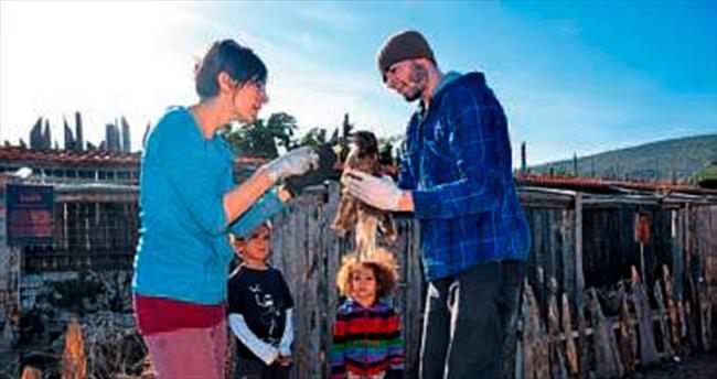 Amerikalı aile doğa sevgisi ile Burdur'da
