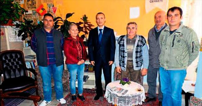 Ercan Yılmaz'dan AGC'ye ziyaret