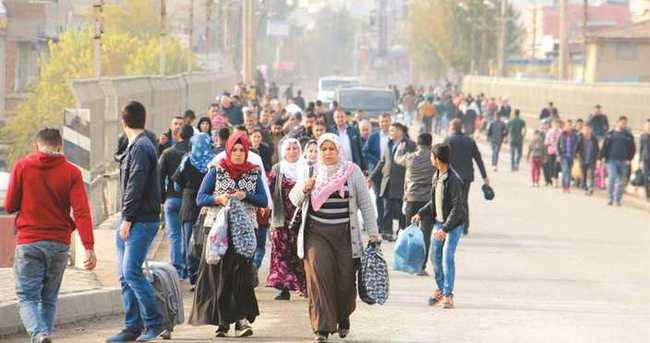 Zorunlu göçe PKK ateşi