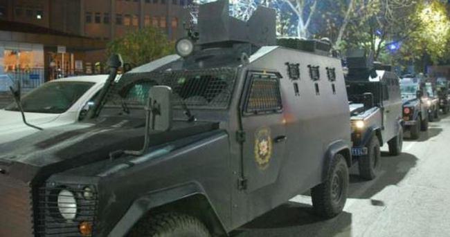 Gaziantep'te şafak operasyonu: 17 gözaltı