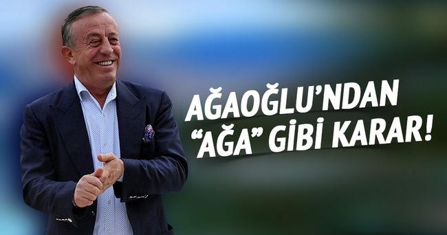 Ali Ağaoğlu eğitime giriyor