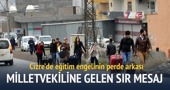 Cizre'de eğitim engelinin perde arkası