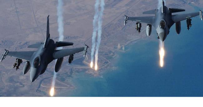 F-16'lar yine o bölgede