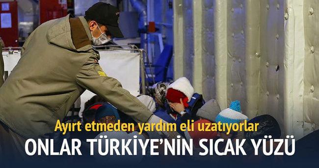Onlar Türkiye'nin sıcak yüzü