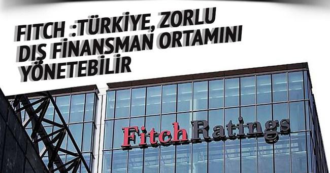 Türkiye, zorlu dış finansman ortamını yönetebilir