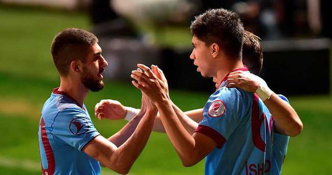 Trabzonspor'da 4 futbolcuya af