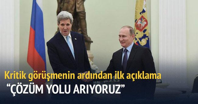 Putin: ABD ile en zor krizlere çözüm yolu arıyoruz