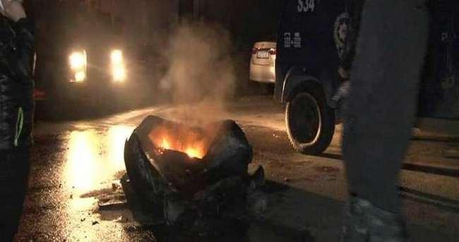 Ataşehir'de olaylı gece