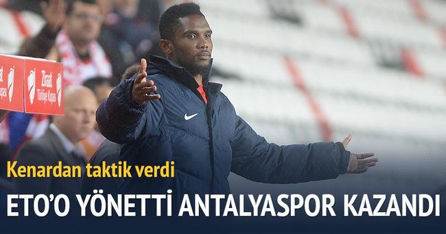 Eto'o taktik verdi Antalyaspor kazandı
