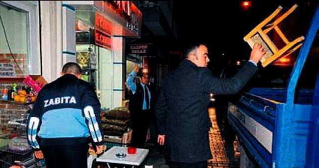 Karşıyaka'da 2 bin işyerine işgal cezası