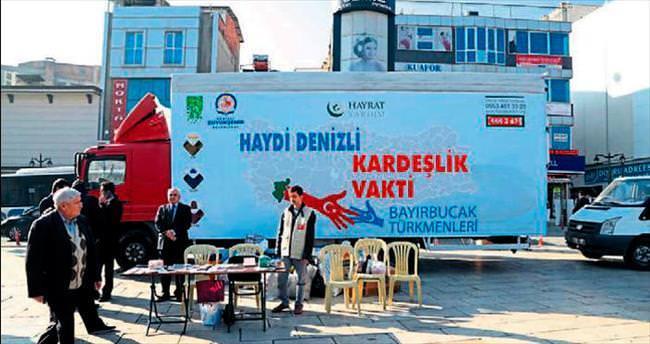 Bayırbucak Türkmenlerine yardım eli
