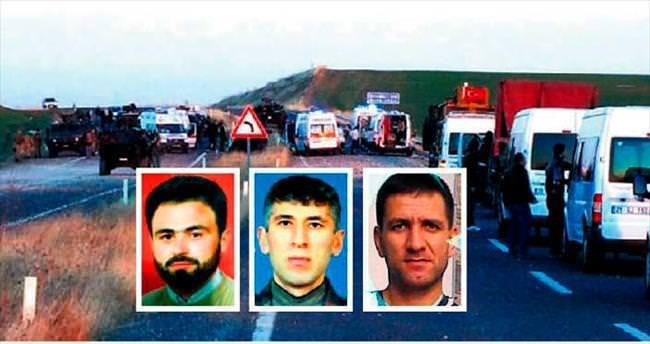 Bombalı hain tuzak: 3 polis şehit
