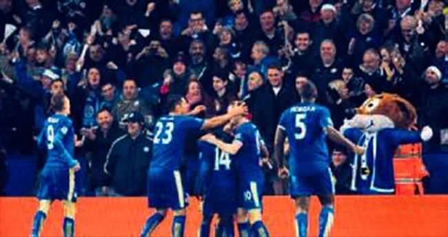 Lider Leicester City bahisçileri şaşırttı
