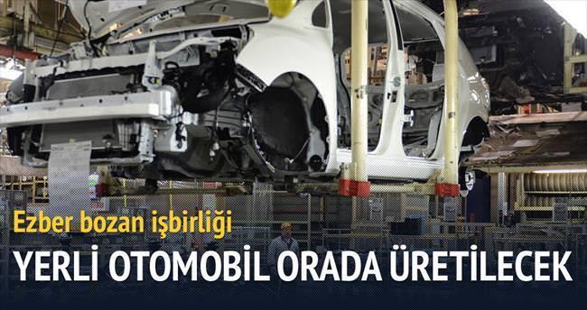 Yerli otomobil için Marmara protokolü