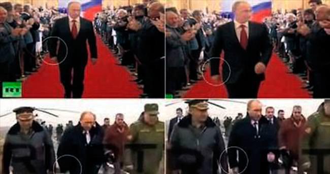 Putin sağ elini neden kullanmıyor?