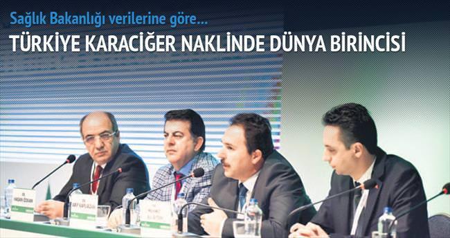 Türkiye karaciğer naklinde birinci...