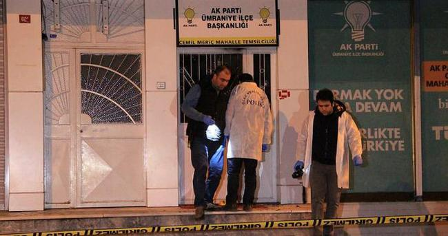 AK Parti temsilciliğine molotoflu saldırı