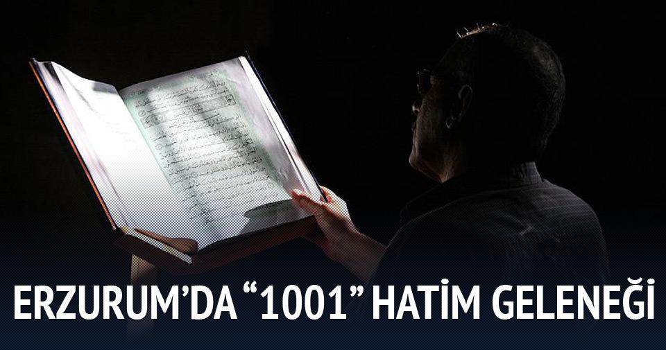 Erzurum'da 1001 Hatim geleneği