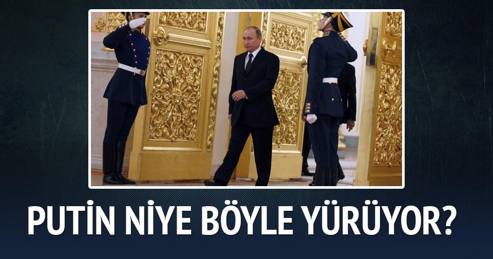 Putin'in sağ kolu niye oynamıyor