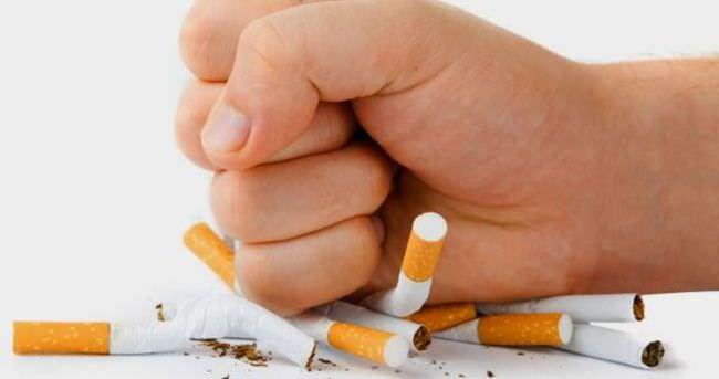 Sigaranın düşmanı besinler
