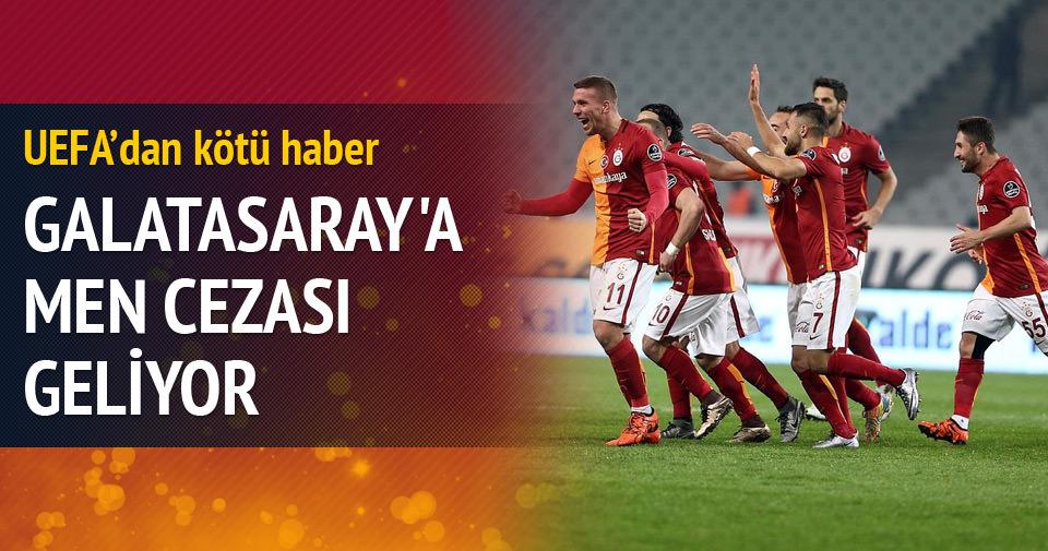 Galatasaray'a men cezası geliyor