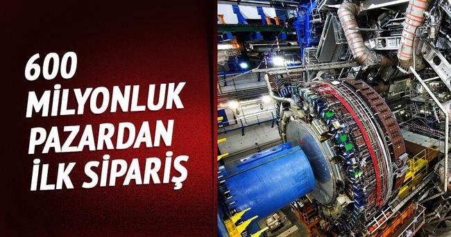 CERN pazarından ilk siparişi Ankara firması aldı