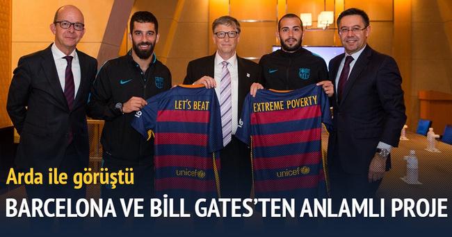 Barcelona Kulübü ile Bill Gates arasında anlamlı proje