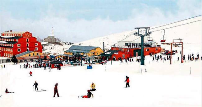 Kayak merkezleri sezon için hazır