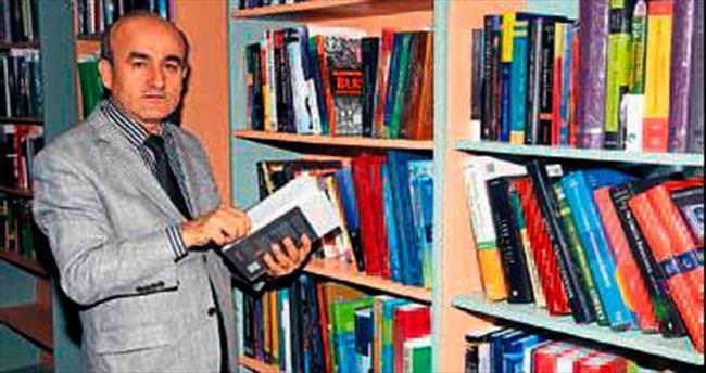 Kütüphaneye bin 14 kitap