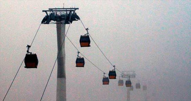 Başkentte yoğun sis etkili oldu