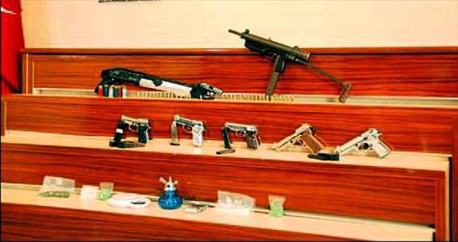 Gaziantep'te uyuşturucu operasyonu: 7 tutuklama