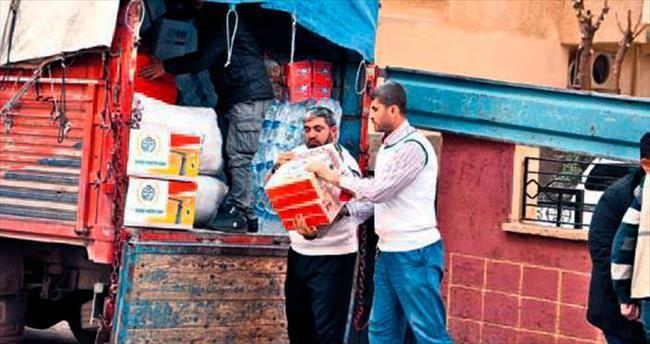 Terör mağdurlarına İHH'den insani yardım