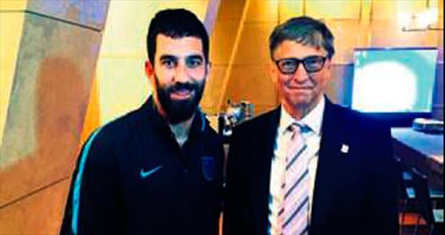 Arda ile Bill Gates bir arada