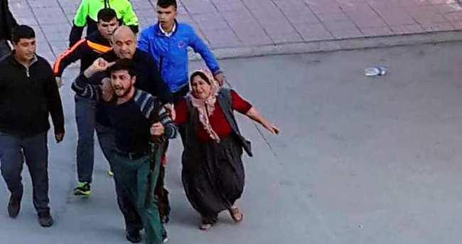 Okul basan abi tutuklandı