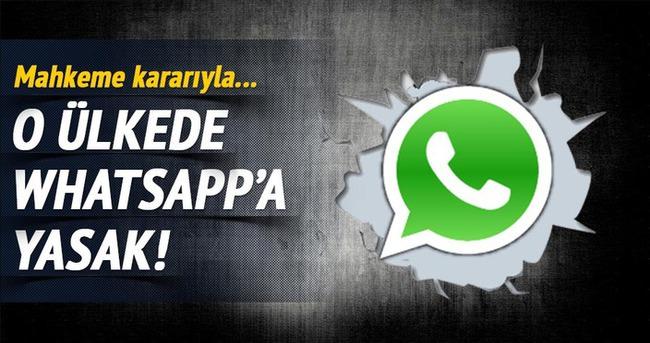 WhatsApp o ülkede yasaklandı