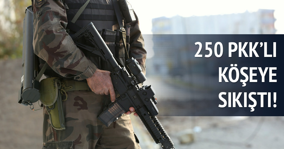 250 PKK 3 aşamalı planla yakalanacak