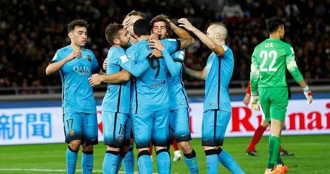 River Plate'in finaldeki rakibi Barcelona