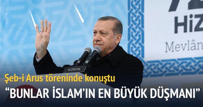 Cumhurbaşkanı Erdoğan: Bunlar İslam'ın en büyük düşmanı
