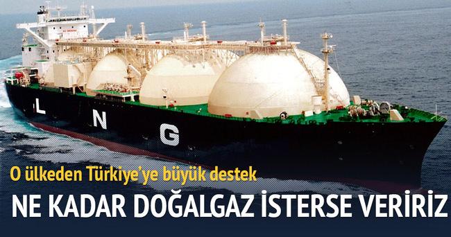 Türkiye ne kadar doğalgaz isterse veririz