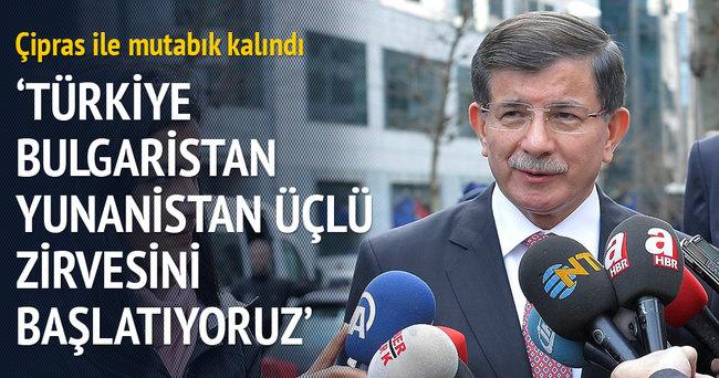 Başbakan Davutoğlu Brüksel'de