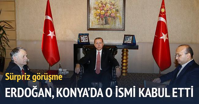Erdoğan, Kırımoğlunu kabul etti