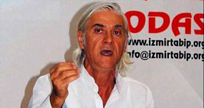 Terör destekçisi eylem İzmirli tabipleri kızdırdı