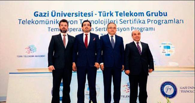 Türk Telekom Grubu ile Gazi nitelikli eleman yetiştirecek