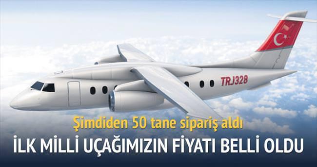 Milli uçağın fiyatı 20 milyon $