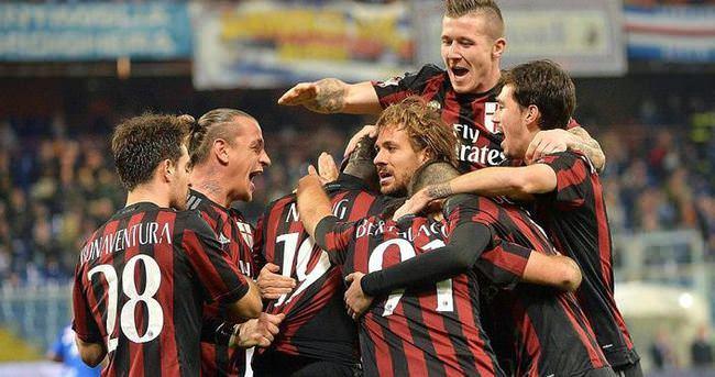 İtalya Kupası'nda son çeyrek finalist Milan